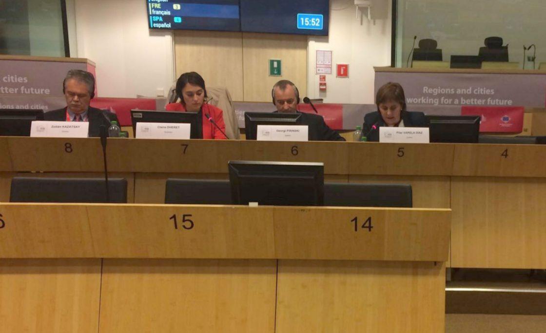 Asturias demanda en Bruselas más fondos para favorecer la inclusión social