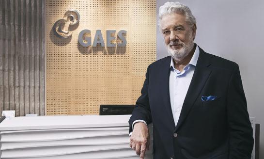Plácido Domingo protagoniza la nueva campaña de GAES