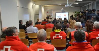 Cruz Roja Navarra y Loterías presentan 'Espacio Activo',  para estar cada vez más cerca de los mayores y su entorno