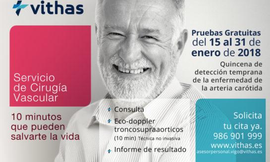 El Hospital Vithas Nuestra Señora de Fátima desarrollará una campaña gratuita para prevenir el ictus