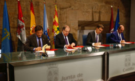 Javier Fernández se reúne con los presidentes de Galicia, Castilla y León y Aragón
