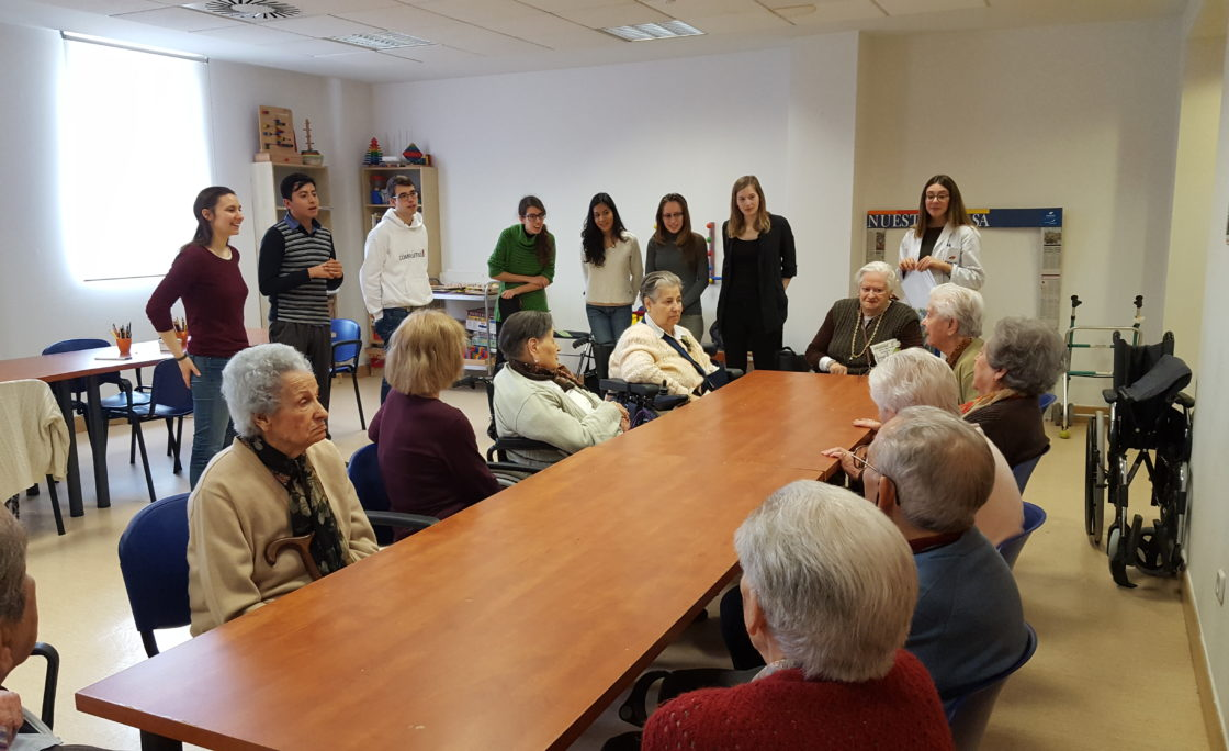 Colaboración de Amavir y ESN SocialErasmus para favorecer encuentros intergeneracionales en las residencias