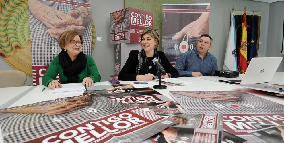 La Diputación de A Coruña inicia la campaña 'Contigo Mellor'