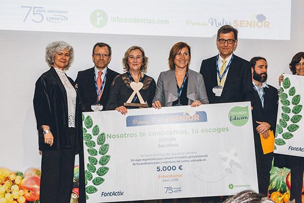 Laboratorios Ordesa e Inforesidencias entregan los Premios Nutrisenior 2018