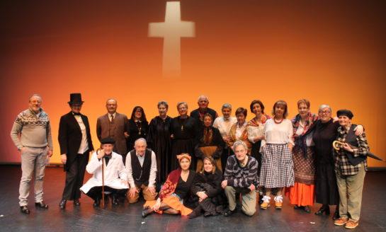El Grupo de Teatro Sénior de Afundación presenta 'Os vellos namorados' en Pontevedra
