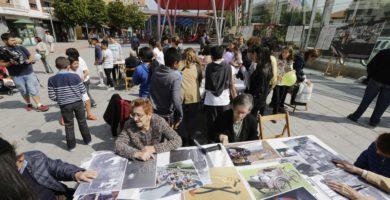Encuentro intergeneracional en Algorta
