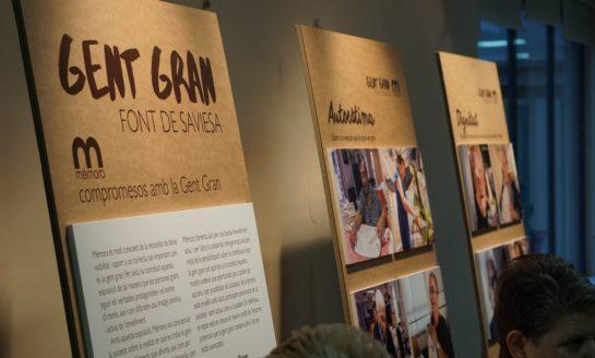 Exposición fotográfica en Manresa para dar visibilidad a los mayores