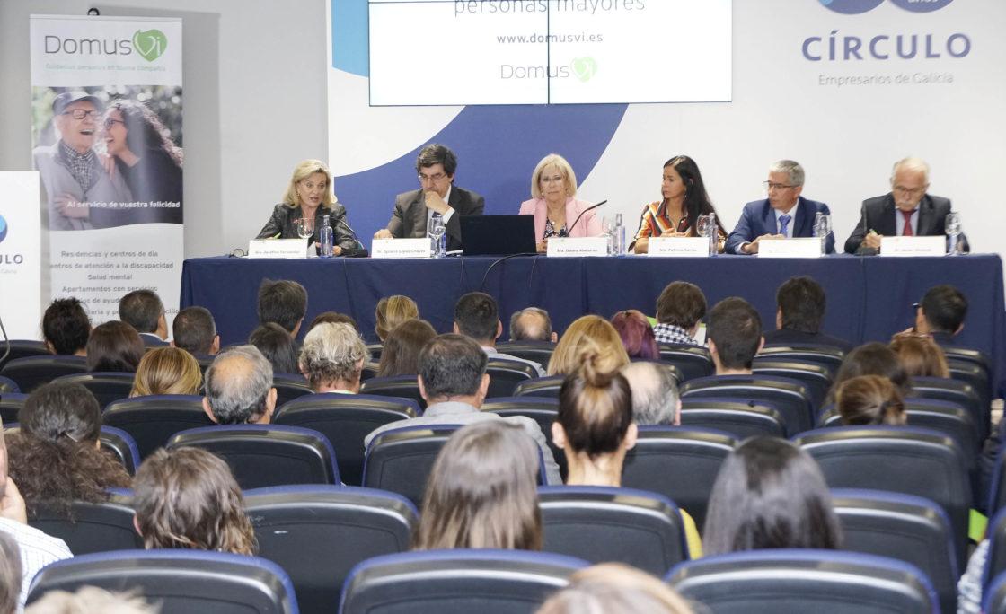 La Fundación DomusVi reúne por primera vez en Galicia a expertos en los derechos de las personas mayores