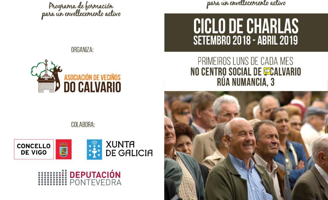 Ciclo de charlas sobre envejecimiento en Vigo