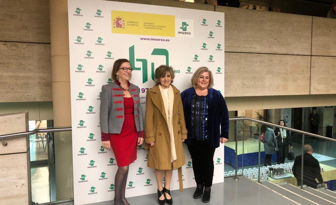 Carcedo preside el acto institucional de celebración del 40º aniversario del Imserso