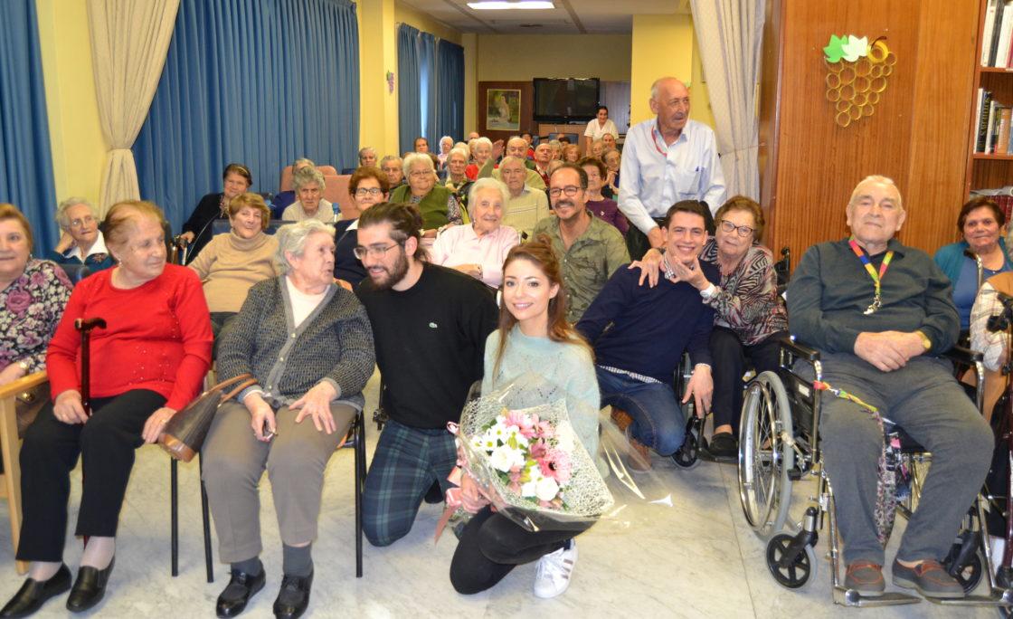 El  musical 'El Médico' se traslada hasta la residencia Amavir de Collado Villalba