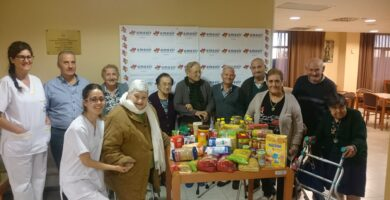 Amavir dona 2.100 kilos al Banco de Alimentos en el marco de la 'Gran recogida'