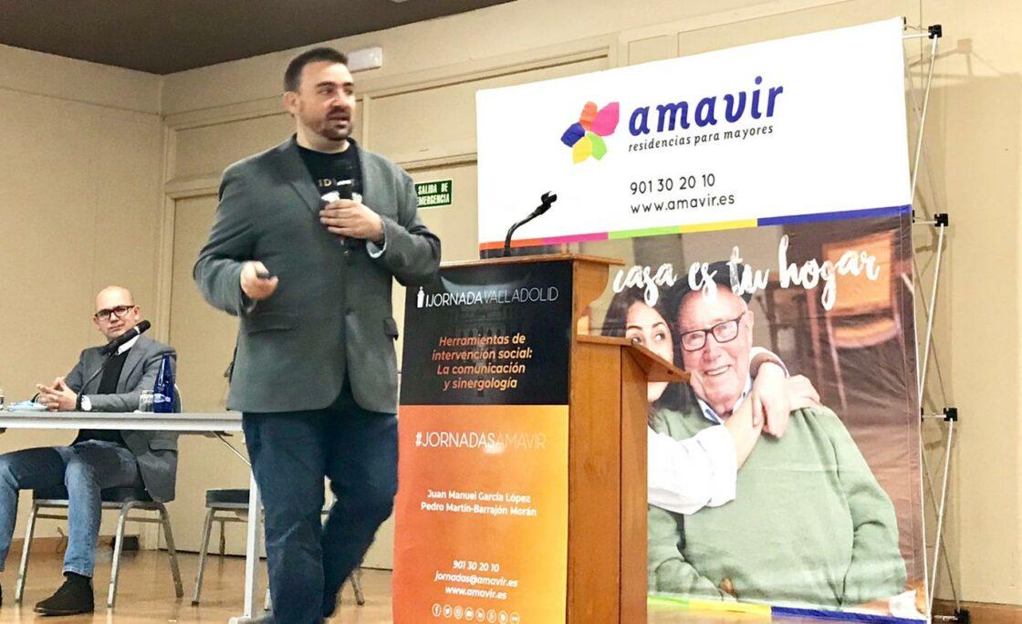 Más de 80 personas asisten a la Jornada Amavir de Trabajo Social en Valladolid