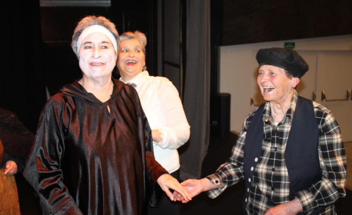 El Grupo de Teatro Sénior de Afundación inicia una gira para presentar 'Os vellos namorados'