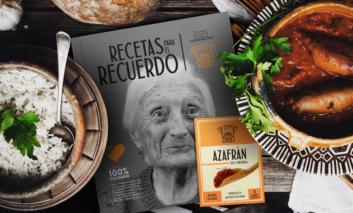 Un libro de recetas con azafrán, para visibilizar y colaborar con el alzhéimer de forma solidaria