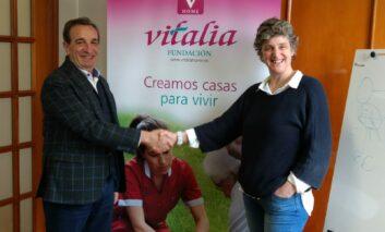 Convenio entre Vitalia Plus y la Fundación Cuidados Dignos para liberar de sujeciones los centros  del grupo