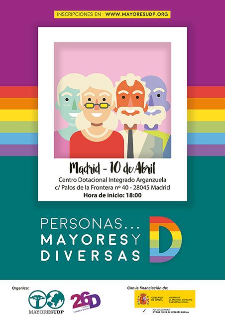 UDP y la Fundación 26 de Diciembre organizan el encuentro, '¡Mayores y Diversas!'