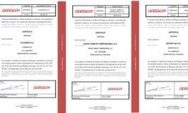 Amavir obtiene la certificación favorable de su sistema de gestión de riesgos laborales