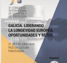 31 Congreso Internacional de Gerontología y Geriatría