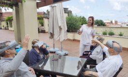 DomusVi incorpora la realidad virtual a sus terapias