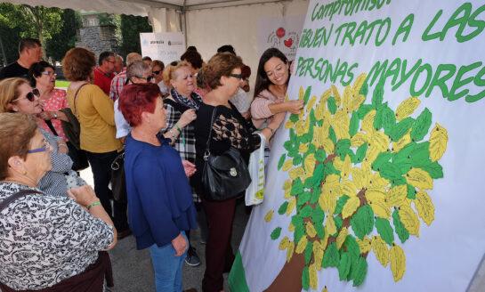 Santander celebra una jornada de sensibilización para reivindicar el buen trato a los mayores y el respeto a sus derechos