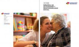 Amavir presenta su Memoria 2018 de Actividades y Responsabilidad Social