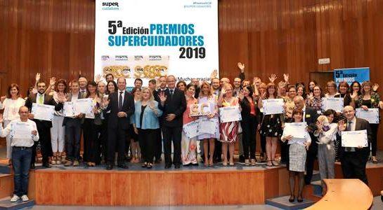SUPERCUIDADORES entrega sus Premios 2019 a cuidadores, empresas y entidades públicas y privadas