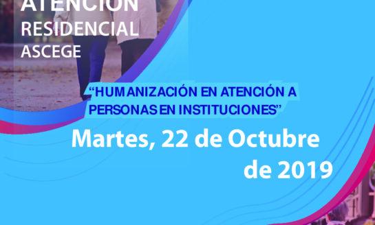 ASCEGE celebra su III Jornada de Atención Residencial
