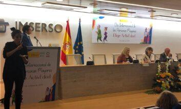 """María Luisa Carcedo: """"España es hoy un buen país para los mayores pero existen retos que debemos abordar"""""""