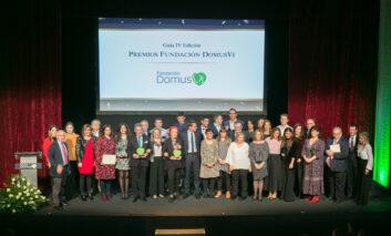 DomusVi premia las iniciativas que contribuyen a mejorar la calidad de vida de las personas mayores o con dependencia