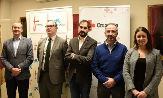 Cruz Roja presenta el proyecto de investigación sobre la  'Percepción de la soledad de las personas mayores en Navarra'