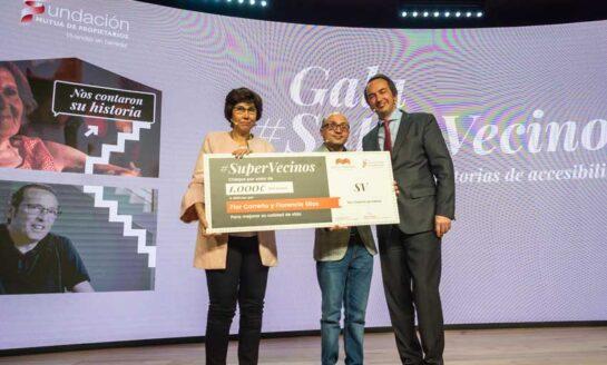 El municipio de Caspe y una vecina de Madrid, premios #Supervecinos