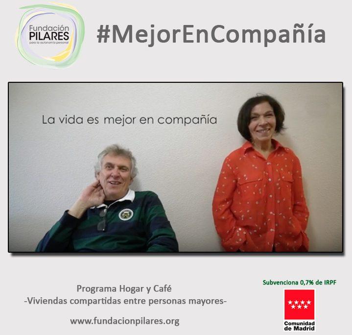 Fundación Pilares lanza la campaña #MejorEnCompañía, para promover el uso de viviendas compartidas entre personas mayores