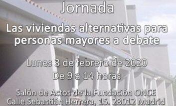 Jornada 'Las viviendas alternativas para personas mayores a debate'