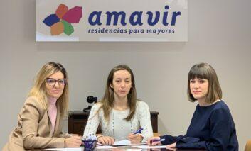 Amavir firma un convenio de colaboración con la Federación de Asociaciones de Familiares de Enfermos de Alzheimer (FAFAL)