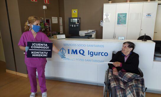 IMQ Igurco participa en una campaña para reconocer la labor de los profesionales responsables sociosanitarios