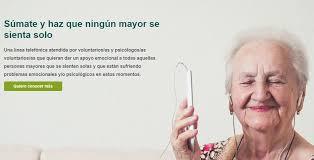 #Ningúnmayorsolo, un servicio gratuito de atención psicosocial