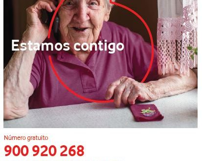'#MayoresAcompaña2',  para paliar el aislamiento de las personas mayores