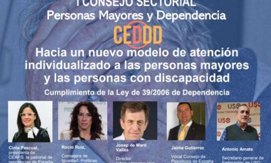 En marcha el Consejo Español para la Defensa de la Discapacidad y la Dependencia (CEDDD)