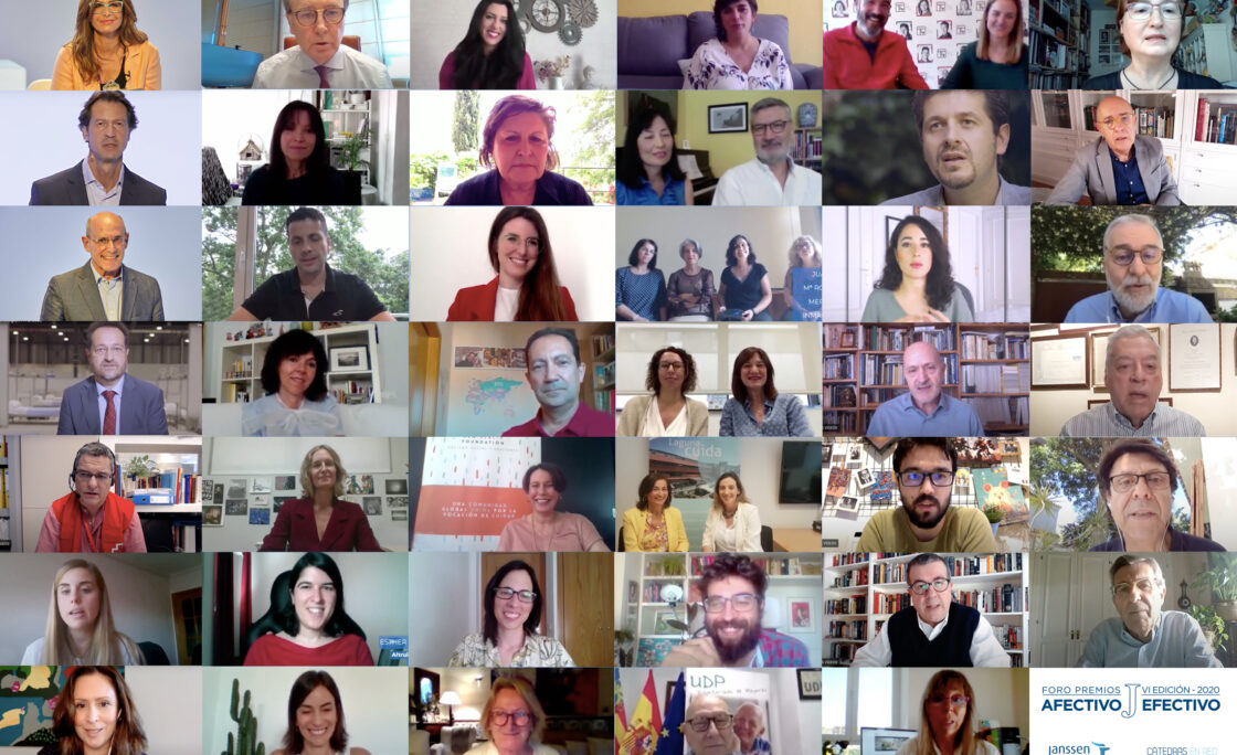 Janssen entrega la VI edición de sus Premios Afectivo Efectivo con una mención especial a la sociedad española