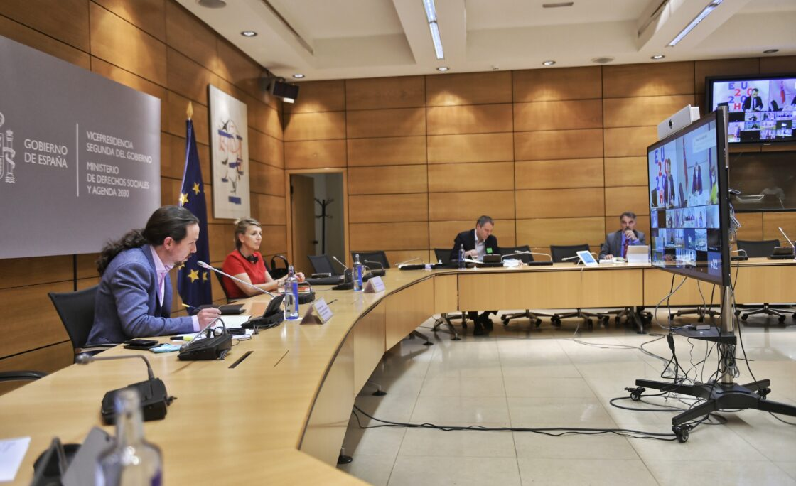 Reunión de ministros de Empleo, Política Social, Sanidad y Consumo de la Unión Europea