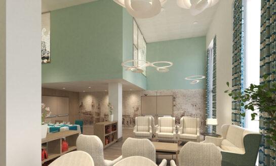Requena y Plaza finaliza el proyecto de interiorismo de la nueva residencia EMERA  en Madrid