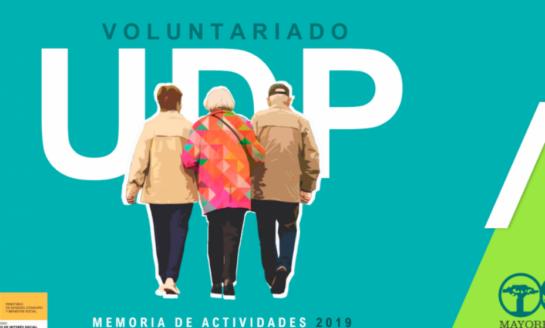 El voluntariado UDP atiende a más de 7.000 personas mayores y en situación de dependencia