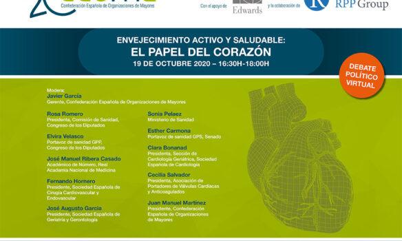 Debate sobre 'Envejecimiento activo y saludable: el papel del corazón'