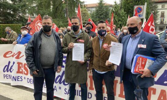 Las federaciones de Pensionistas de UGT y CCOO reclaman una Ley Integral de Derechos de las Personas Mayores