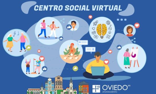 Suspensión de clases Centro social virtual de Oviedo, hasta el 11 de enero