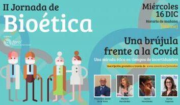 Amavir organiza su II Jornada de Bioética 'Una brújula frente a la COVID: una mirada ética en tiempos de incertidumbre'