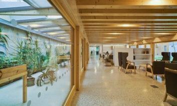 Primer edificio  geriátrico con certificación  Passivhaus