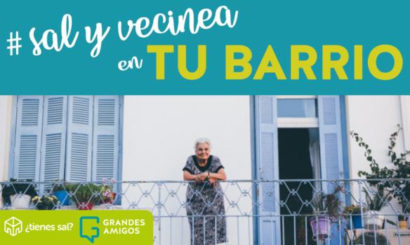 Nace Sal y vecinea, una idea para prevenir la soledad de las personas mayores