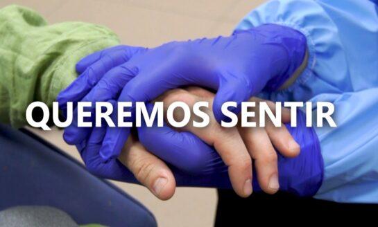 Las familias gallegas reclaman el contacto físico con las personas mayores en las residencias